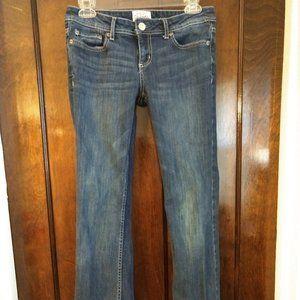 Short Length Boot Cut Jeans